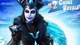 New ICE QUEEN Skin Gameplay In Fortnite Battle Royale...