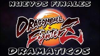 DRAGON BALL FIGHTER Z - GOKU y VEGETA BASE - NUEVOS FINALES DRAMATICOS - DLC 3