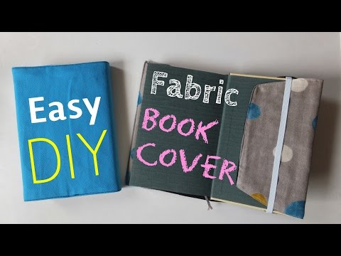 :*DIY*:how-to-make-fabric-book-cover.**-easy-tutorial.**