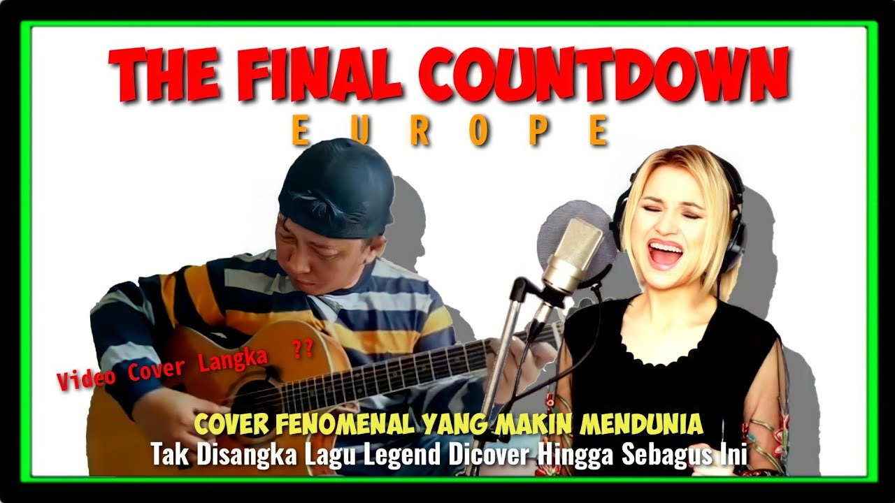 GILA NIH SUARA VOCALNYA BUKAN MAIN   Alip Ba Ta Feat Alyona Yarushina   THE FINAL COUNTDOWN (Europe)