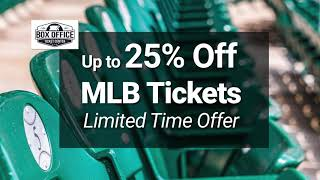 Cheap MLB Tickets - Order 2019 MLB Baseball Tickets