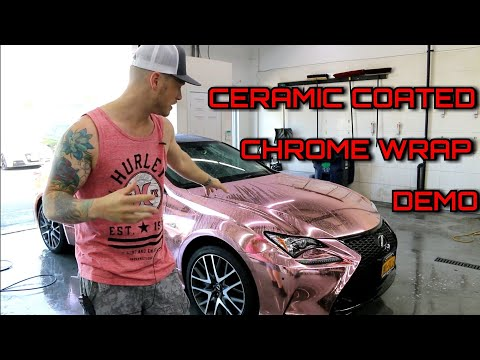 CERAMIC COATED CHROME WRAP | What Does It Do? | Does It Last?