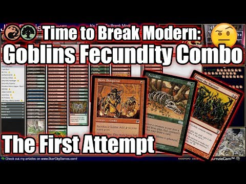 It's Time To Break Modern! Skirk Prospector + Fecundity Combo Deck First Attempt
