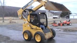 2008 John Deere 317 Skid Steer Loader Turbo Diesel Bobcat For Sale