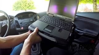 RAM® Mounts No-Drill™ Vehicle Laptop Mount - Assembly & Installation Tips