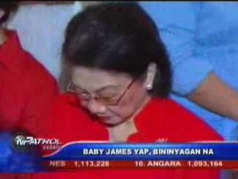 Baby James Yap's Christening