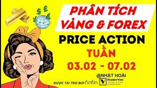 Phân Tích Vàng & Forex Theo Price Action Tuần 03/02-07/02