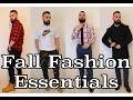 Fall Fashion Essentials For Men