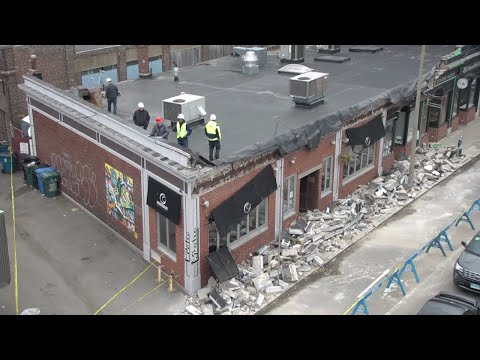 Engineers say Allston building is structurally sound after facade collapse