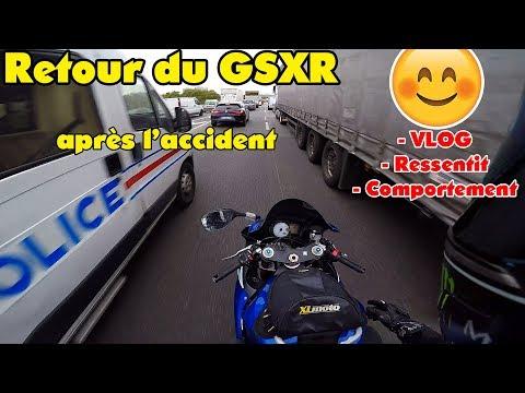 Retour du GSXR après l'accident 😈 - Motovlog dans Marseille 🔥
