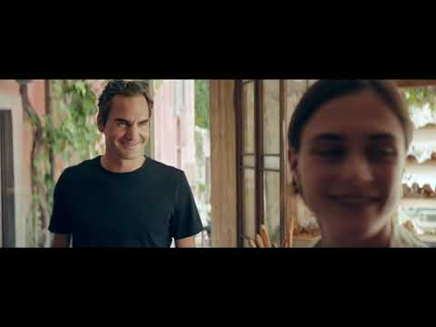 Electric or Petrol? Mercedes-Benz ad with Roger Federer.