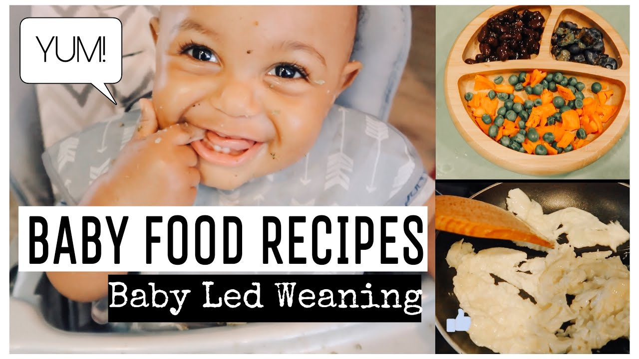 BABY LED WEANING RECIPES | BABY FOOD RECIPES FOR 10 MONTHS