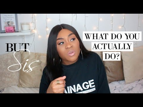 BUT SIS WHAT DO YOU ACTUALLY DO?! | HOW I NETWORKED MY WAY INTO MY JOB!! | NISSY TEE