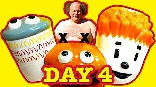 mcdonald s drive thru diet day 4 free food where s happy luke