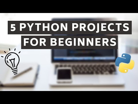 5 Python Projects for Beginners thumbnail
