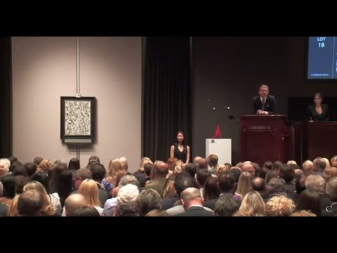 Jackson Pollock's 'Number 19' | 2013 World Auction Record