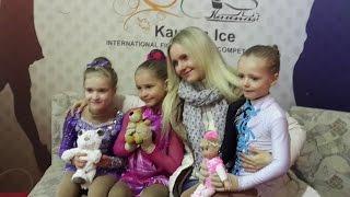 фигурное катание, дети  пять-шесть лет, Каунас- 2015
