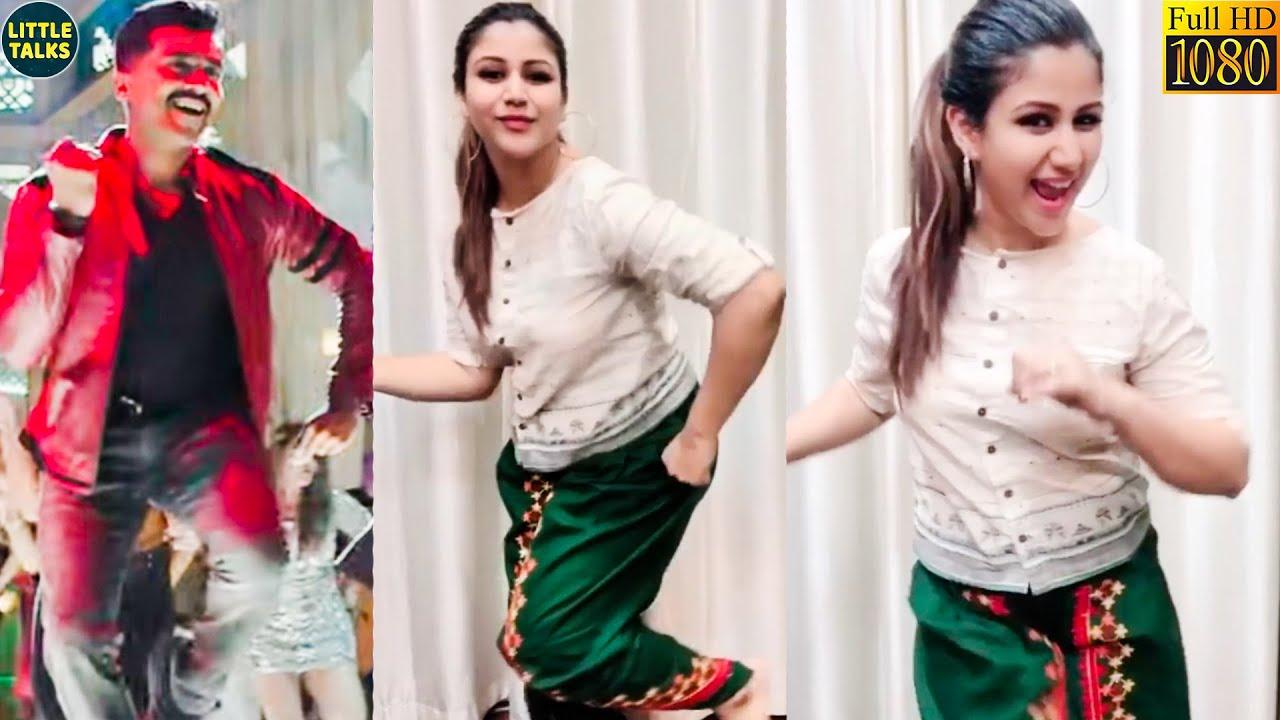 Suriya-வைப் போல் ஆடி அசத்திய Alya Manasa | Alya Manasa's Super Dance Session at her home | Sanjeev