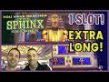 🎰  BEST SPHYNX Game + Extra Long! ✦ 1 Hour ExtraVaganZA with/Marco👬   ✦ Montecarlo Las Vegas