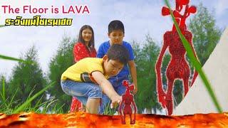 Siren Head ลาวา 4 หัว พาไซเรนเฮดไปส่ง ระวังแม่มันด้วยนะ ฮีโร่จอมพลัง The Floor is LAVA - วินริวสไมล์