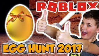 Let's Get Some Lost Eggs ! Roblox Egg Hunt 2017 (événement de Pâques)