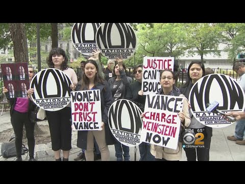 Protesters Call On Vance To Prosecute Weinstein