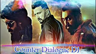 Kiccha Sudeep Yash vs Dhruva Sarja counter DJ song 2018| |Pavan DJ Music |