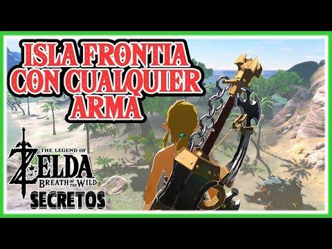 Secretos y Trucos Zelda Breath of the Wild #119 - Entrar en Isla Frontia con cualquier arma