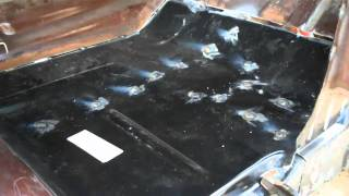 PART 13 73-87 C10 RUST REPAIR | Welding Chevy Patch Panels