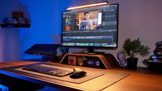 Work From Home Office Tour - My Creative Workspace & NEW Desk Setup 2020! | Raymond Strazdas