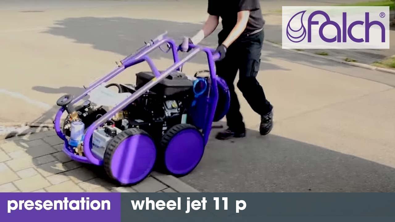 hochdruckreiniger - wheel jet 11 p - produktpresentation