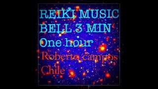 REIKI MUSIC : 3 MIN BELL START IN 5 SECONDS