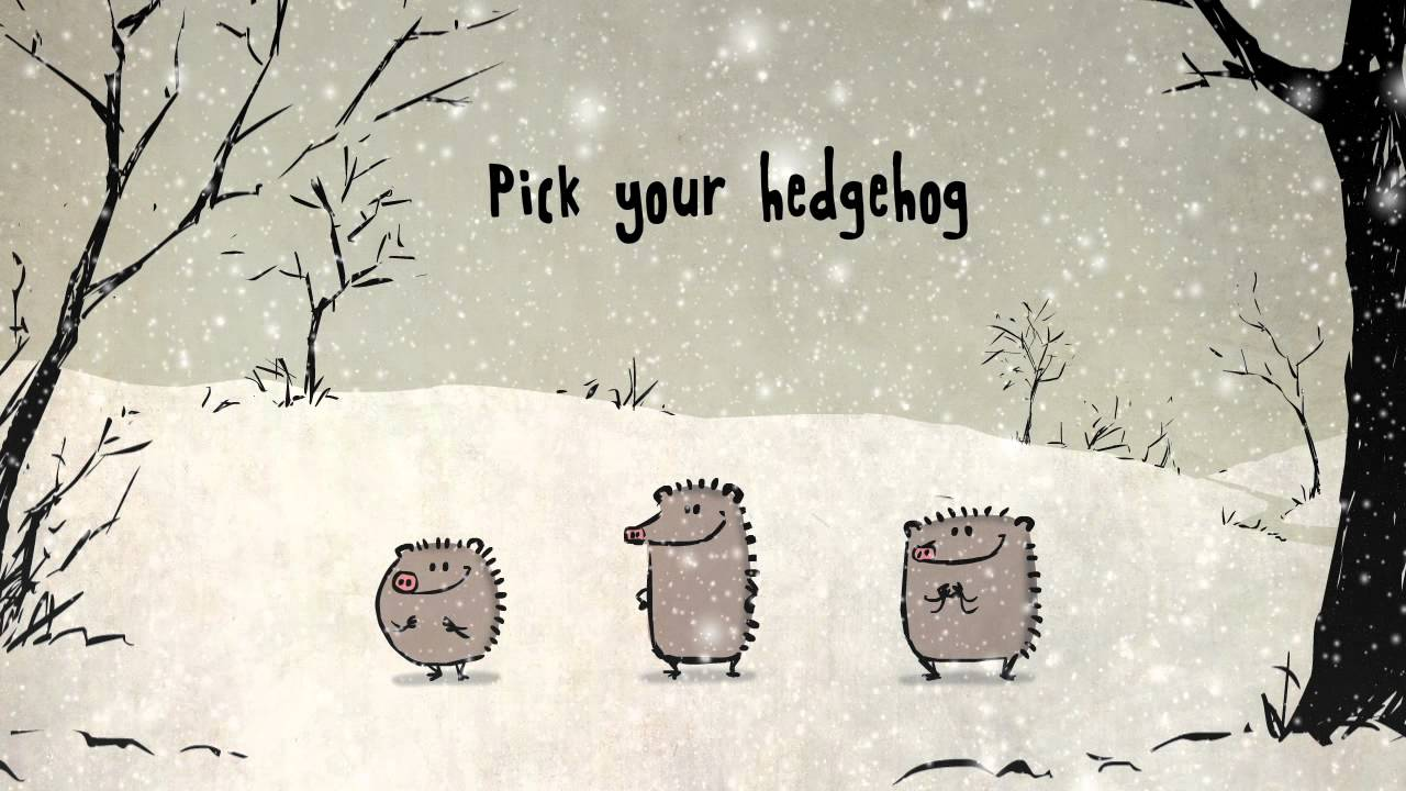 Singing Christmas Hedgehogs From Birdbox Studio YouTube