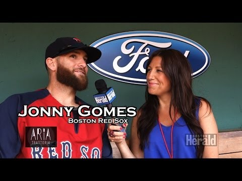 Red Sox Jonny Gomes talks Teammates, Family and Work Ethic