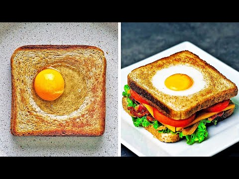 18 Delicious Breakfast Ideas || Easy Recipes For Busy People