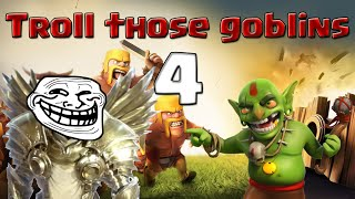 Clash of Clans | Troll Those Goblins - Single Player Campaign - Rocky Fort