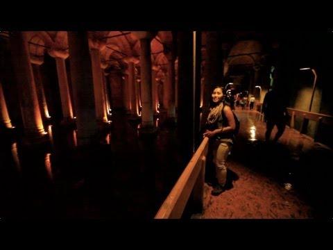 Basilica Cistern Tour, Istanbul Turkey