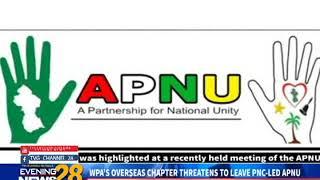 WPA'S OVERSEAS CHAPTER THREATENS TO LEAVE PNC LED APNU  2 16 2019