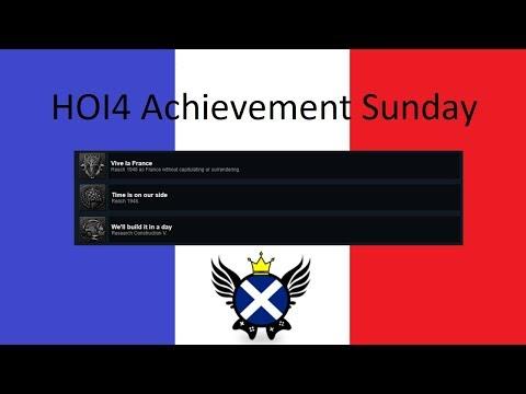 HOI4 Achievement Sunday - Viva La France Part 1