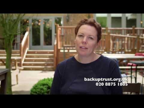 Olivia Colman's Lifeline Appeal for Back Up - BBC One