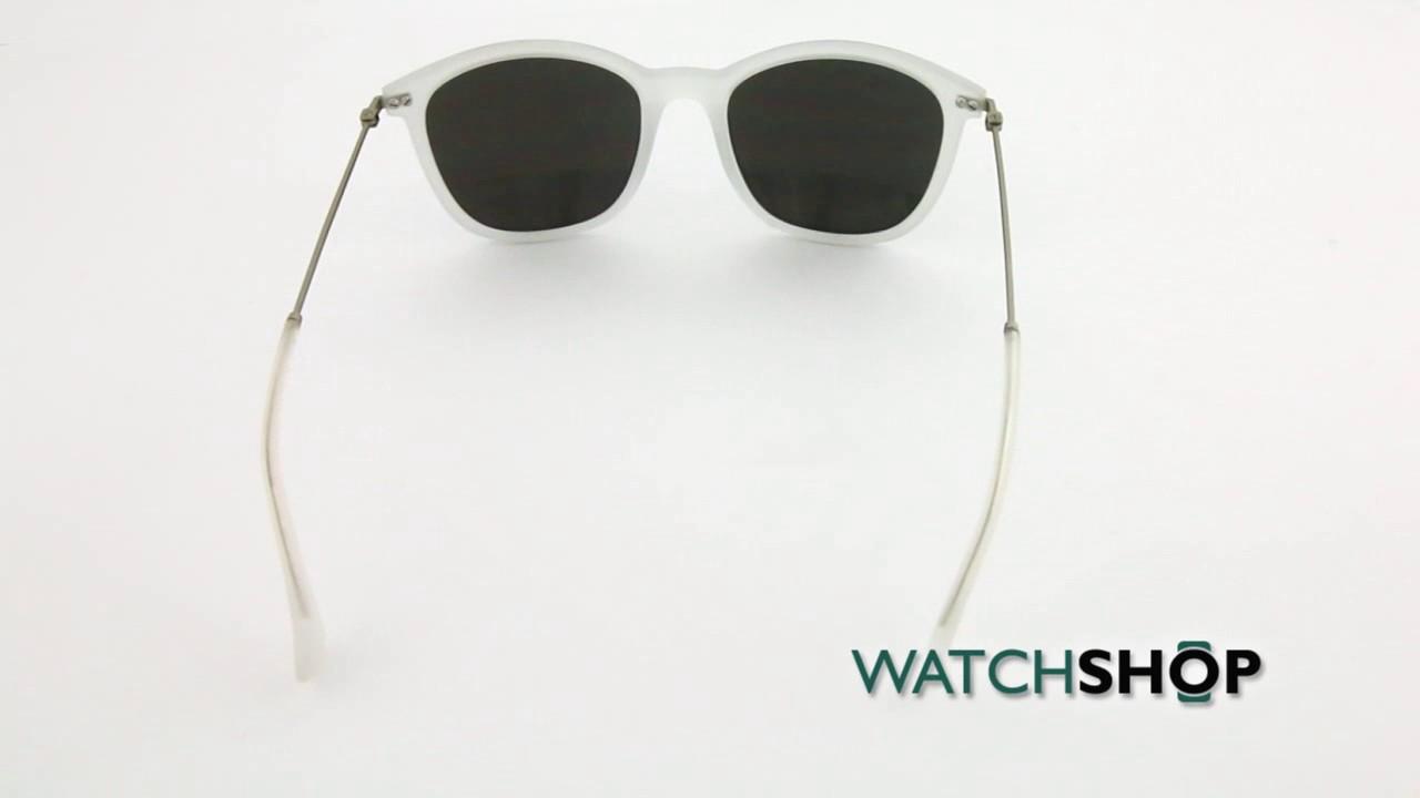 6cf22c14316 Calvin Klein Platinum CK3173S Sunglasses (CK3173S-011) - YouTube