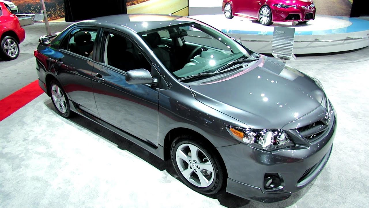 2013 toyota corolla s exterior and interior walkaround 2012 los. Black Bedroom Furniture Sets. Home Design Ideas