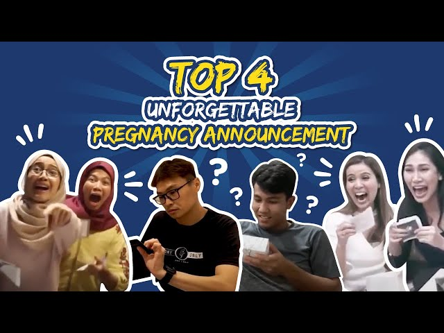 Top 4 Unforgettable Pregnancy Announcement | I'M PREGNANT!