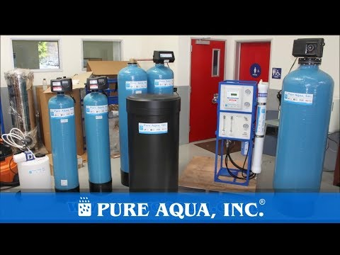 Commercial Water Filtration System PA, USA 3,000 GPD | www.PureAqua.com