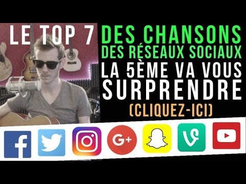 TOP 7 des chansons des réseaux sociaux - La 5ème va vous surprendre - Cliquez-ici !