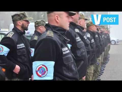 Barrière anti-migrants en Hongrie - Anti-migrant border fence in Hungary