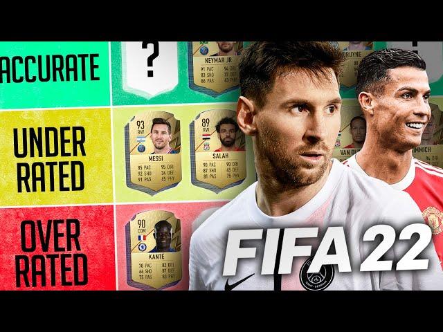RANKING FIFA 22's SHAMBOLIC RATINGS (Top 22 Players) | #WNTT