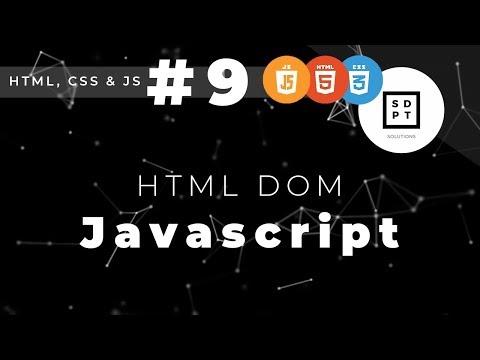 HTML, CSS & JS #9: HTML DOM | Filipino | Tagalog