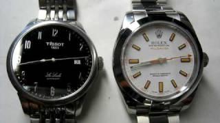 ETA 2824-2 and Rolex 3131