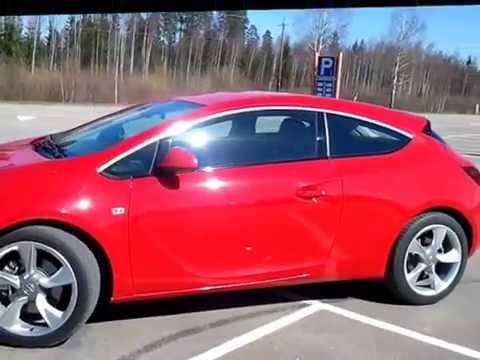 opel astra gtc 2012 132 kw 180 hp youtube. Black Bedroom Furniture Sets. Home Design Ideas